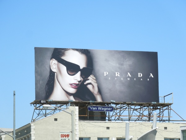 Prada Eyewear Summer 2013 billboard
