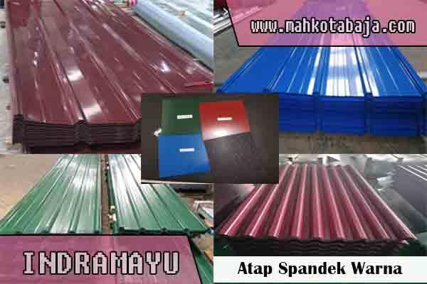 harga atap spandek warna Indramayu