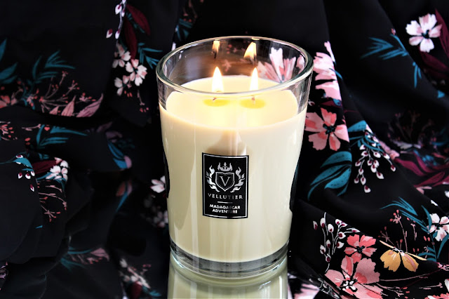 vellutier madagascar adventure avis, vellutier madagascar adventure review, madagascar adventure, bougie parfumée à la vanille, bougie parfumée, bougie vellutier, vellutier candles, candle review, scented candle, avis vellutier, bougie en cire végétale