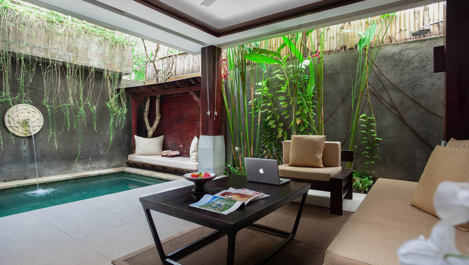 Tanadewa Nusa Dua - One Bedroom Villa Living Room Private Pool  Interior Photo