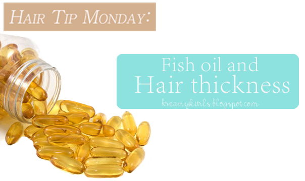 Caught between a cream and curl hair tip monday fish oil for Fish oil for hair