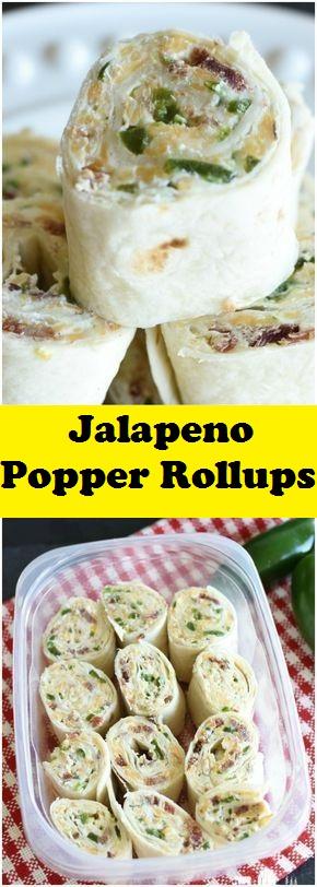 Jalapeno Popper Rollups