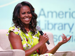 Michelle Obama Chats Out Our Favorite Quote Of The Day!
