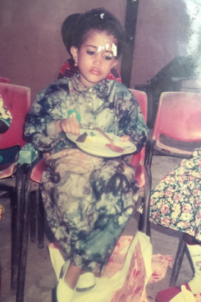 #ThrowbackThursdays. Adunni Ade shares childhood pic of herself