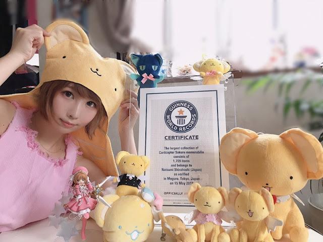 Cosplayer Jepang Ini Memecahkan Guinness Record untuk Koleksi Merchandise Cardcaptor Sakura Terbanyak!