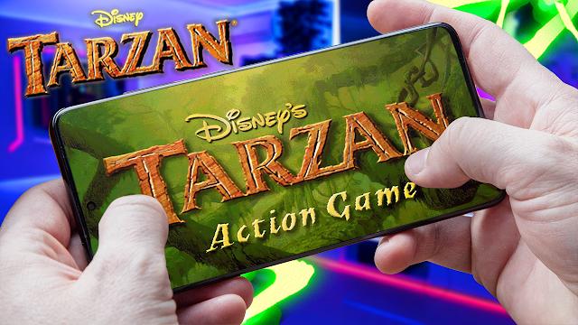 Disney's Tarzan Para Teléfonos Android (ROM N64)