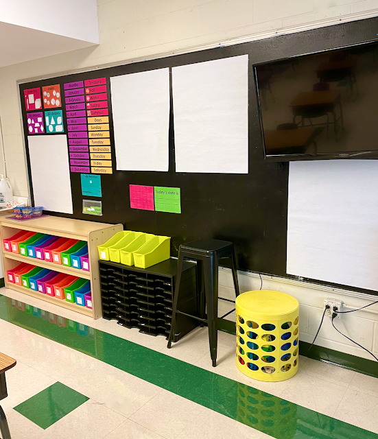 first grade meeting area posters