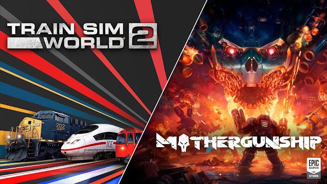 Epic 商店限時免費領取《Train Sim World 2》及《Mothergunship》