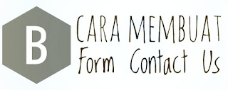 Cara Membuat Form Contact Us