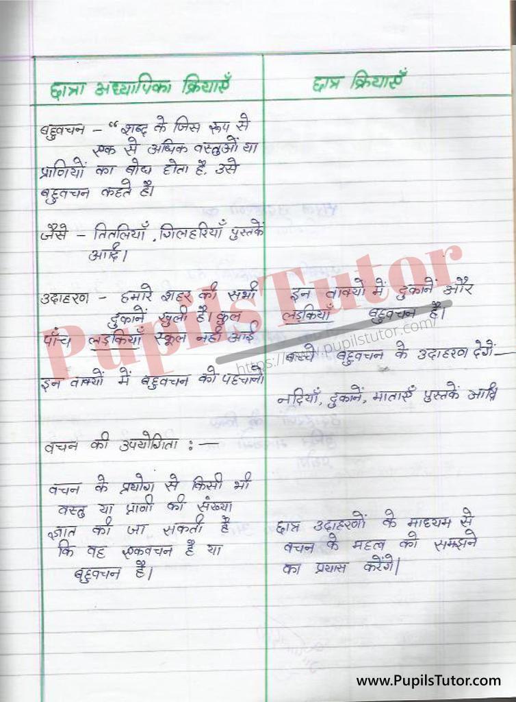 Hindi ki Suksham Shikshan Path Yojana vachan par kaksha 4 k liye