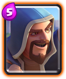 Carta Mago de Clash Royale - Wiki da Carta