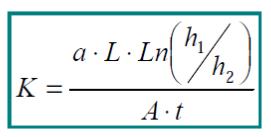 constante de permeabilidad