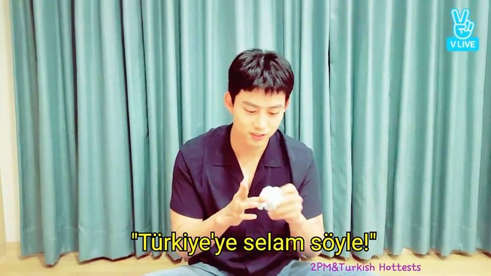 """Taecyeon: """"Türkiye'ye Selam Söyle!"""""""