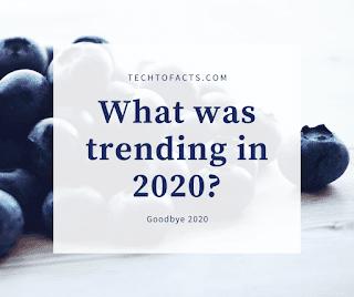 What was trending in 2020? 2020 trends