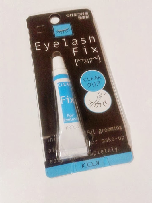 [Review/Dica] Koji Eyelash Fix Glue (2014-03-12)