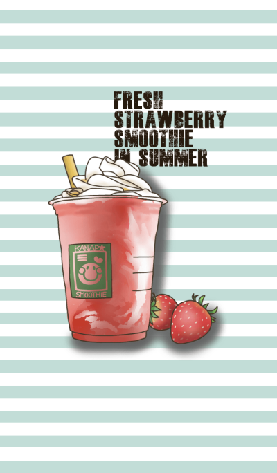 Fresh drink in the summer