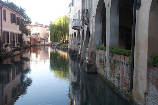 Treviso is famed for its picturesque canals