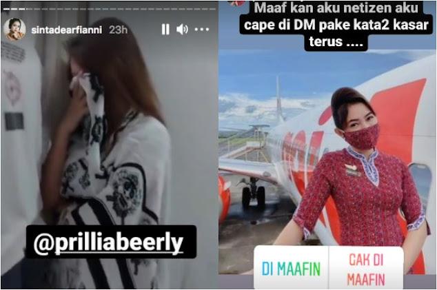 Videonya Sempat Viral, Pramugari Yang Ketahuan Ngamar Dengan Pria Beristri Akhirnya Minta Maaf Ke Netizen