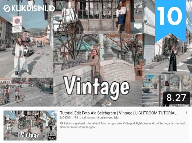 Cara Edit Foto Keren Di Lightroom - Edit Foto Ala Selebgram Keren Di Lightroom Android