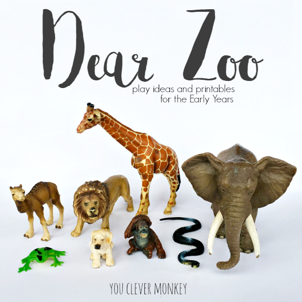Dear Zoo Book Based Activities | you clever monkey