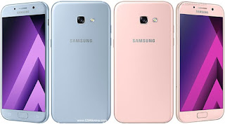 Samsung Galaxy A5 (2017) Berkamera Depan 16 MP