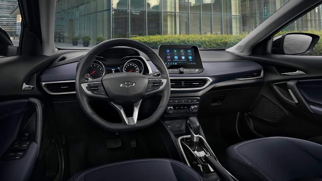 Novo Chevrolet Tracker 2020 - interior
