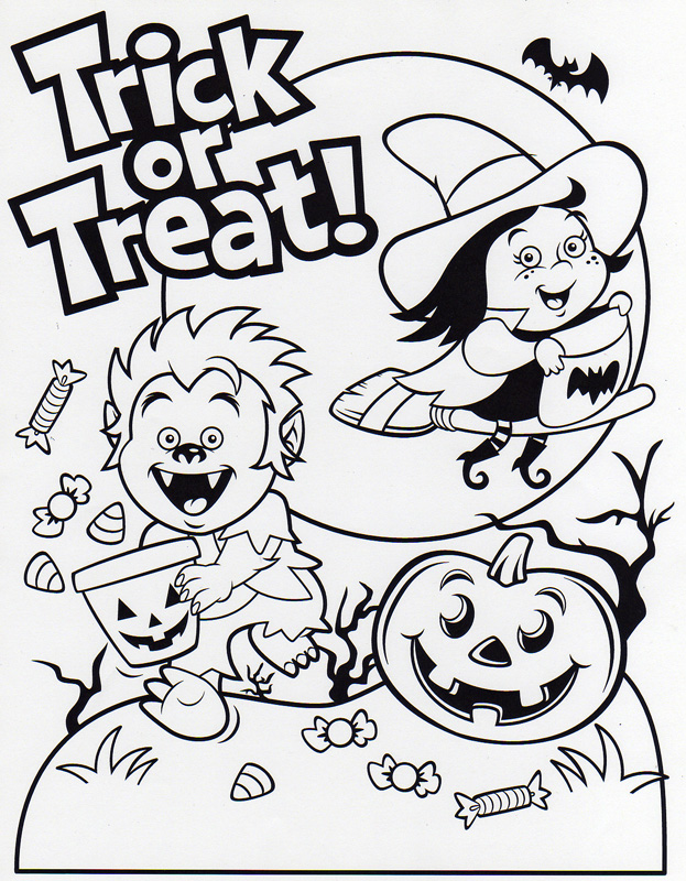 Image Result For Treat Coloring Pages