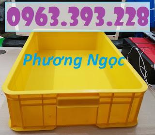 Thùng nhựa cao 15, thùng nhựa đặc HS007, thùng nhựa có nắp 20180407_115559