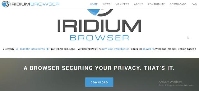 indridium browser