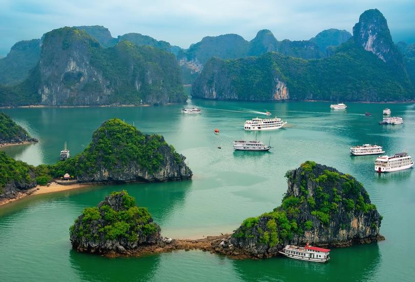 اجمل الاماكن للزيارة في فيتنام
