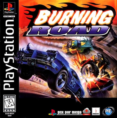 descargar burning road psx mega