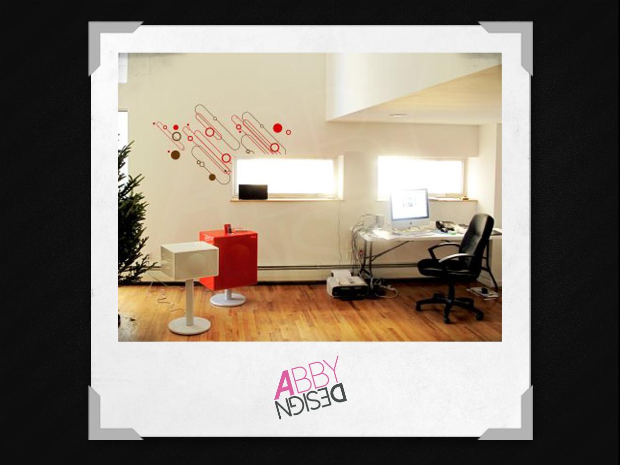 Abby design stickers office vinilos para oficinas for Vinilos para oficinas
