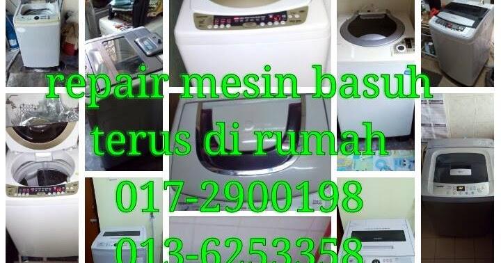 Repair Mesin Basuh Peti Sejuk 013-6253358