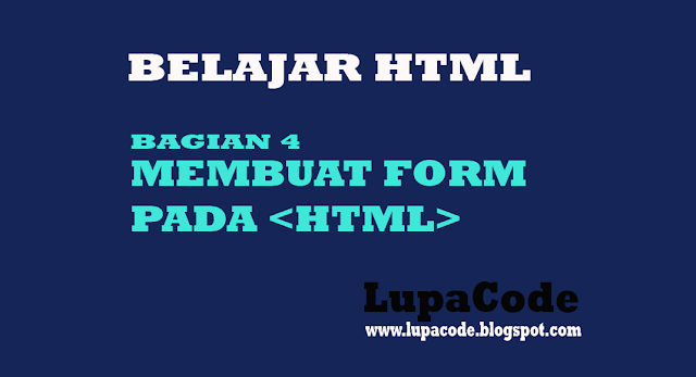 Belajar HTML dan CSS Pengenalan Tag HTML