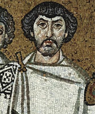 San Vitale mosaic Belisarius