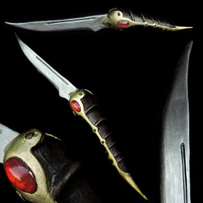 Game of Thrones Catspaw Dagger Blade 3D Print and EVA Foam