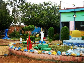 الأطر التربوية تزين فضاءات مؤسسة أولاد العيش الغربية التابعة لمجموعة مدارس أولاد أحمد بني شكدال