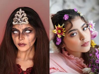 Mengenal Si Cantik Jharna Bhagwani, MUA Remaja yang Viral dengan Lathi Challenge