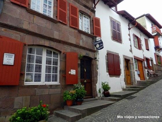 Rue de la Citadelle, Saint Jean Pied de Port, Francia
