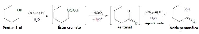 oxidaçao alcool reagente jones
