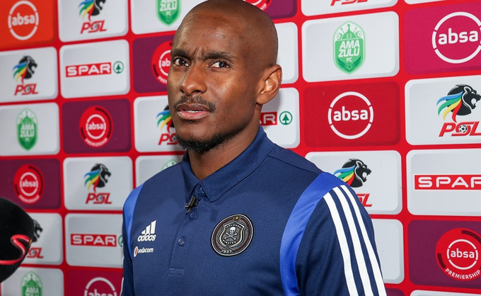 Orlando Pirates interim coach Rhulani Mokwena