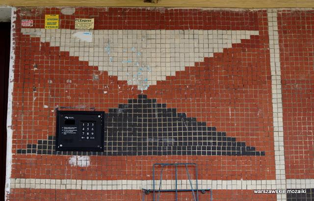 Warszawa Warsaw warszawskie osiedla Wawer modernizm modernism Wacław Kłyszewski Tygrysy Jerzy Mokrzyński Eugeniusz Wierzbicki lata 60 architektura architecture IBJ Instytut Badań Jądrowych mozaika mosaic