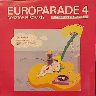 """עטיפת התקליט """"יורופרייד 4"""""""