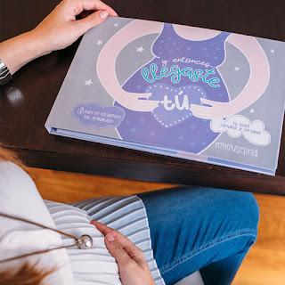 regalos originales embarazada libro recuerdo diario del embarazo