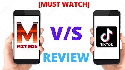 Mitron App Download   MITRON VS TIKTOK
