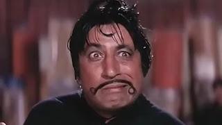 Shakti Kapoor as crime master gogo in muvie 'Andaz apna apna'
