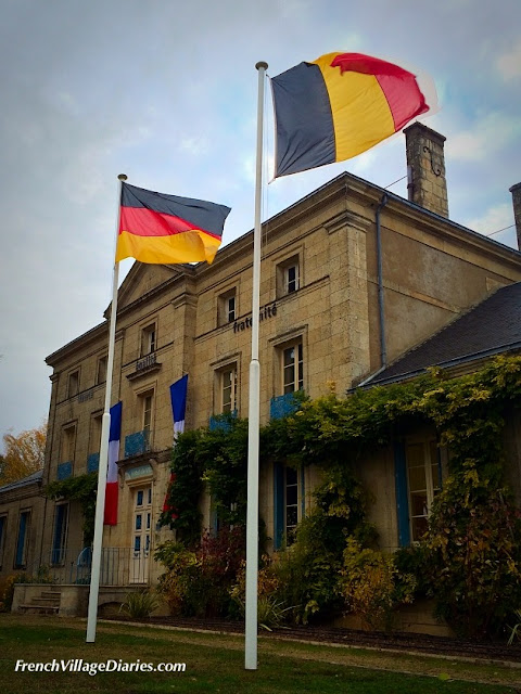 French Village Diaries Remembrance Day Unite Not Fight Melle France Belgium Germany