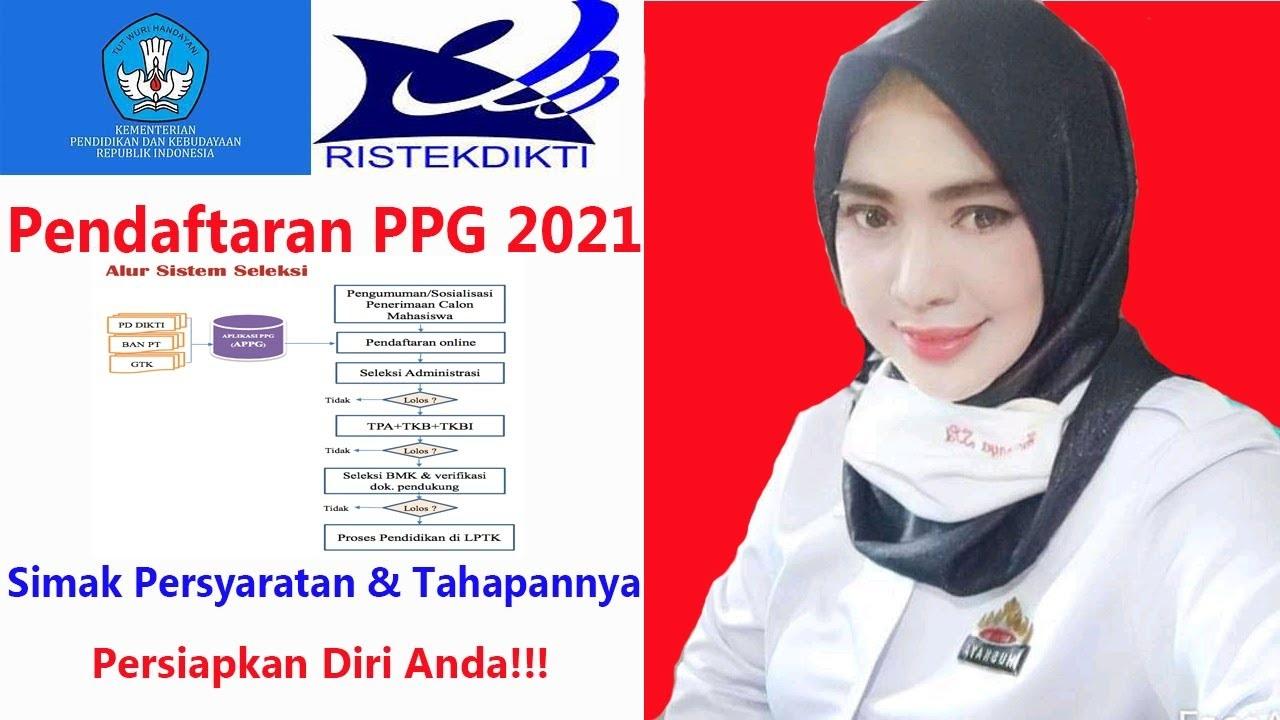 Tahap  Tahap  Pendaftaran Online PPG Ristekdikti 2021/2022