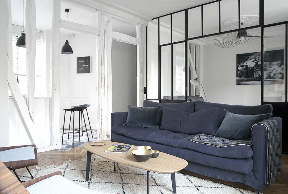 2eme porte a gauche un hausmanien paris dans le 6 me. Black Bedroom Furniture Sets. Home Design Ideas