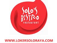Loker Solo Kasir dan Waitress di Solo's Bistro Restauran (Savoury Pizza)